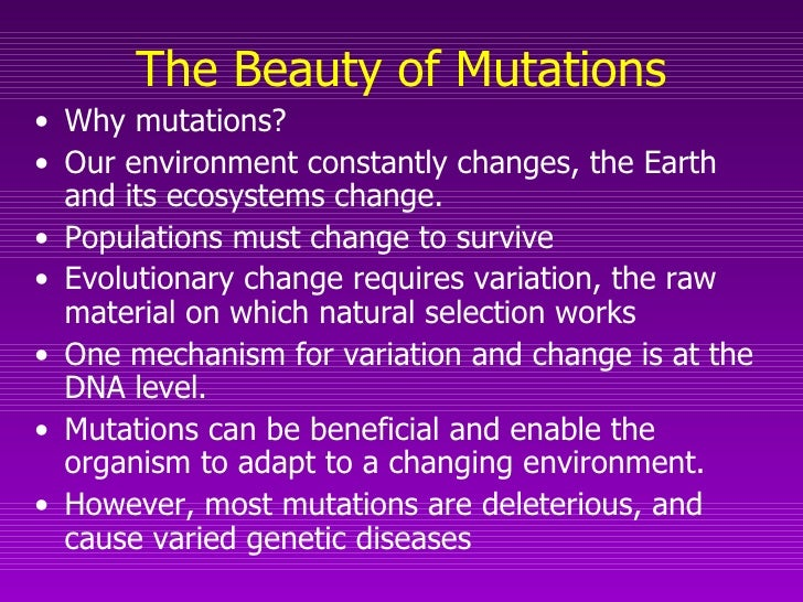 Natural Selection Works On An Organism