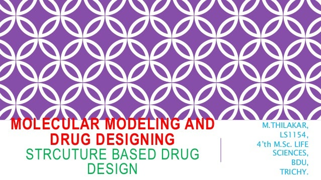 MOLECULAR MODELING AND DRUG DESIGNING STRCUTURE BASED DRUG DESIGN M.THILAKAR, LS1154, 4'th M.Sc. LIFE SCIENCES, BDU, TRICH...