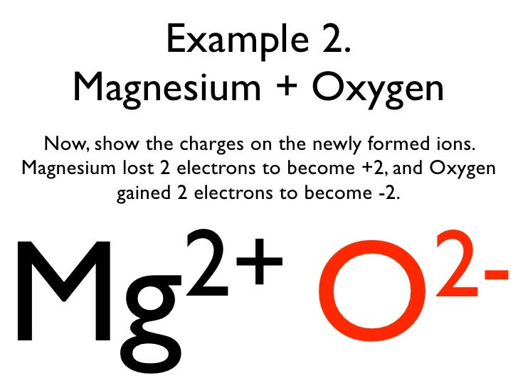 oxygen and magnesium make
