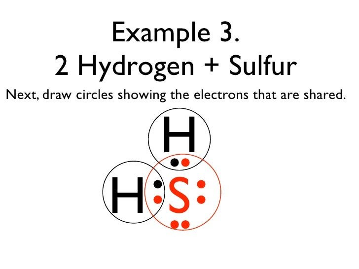 Electron Dot Diagram Hydrogen Combined With Sulfur Diy Wiring