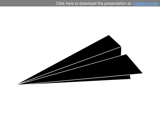 Paper Plane Graphics for PowerPoint - 01