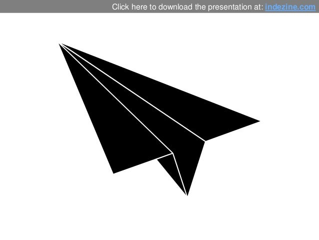 Paper Plane Graphics for PowerPoint - 01 Slide 2