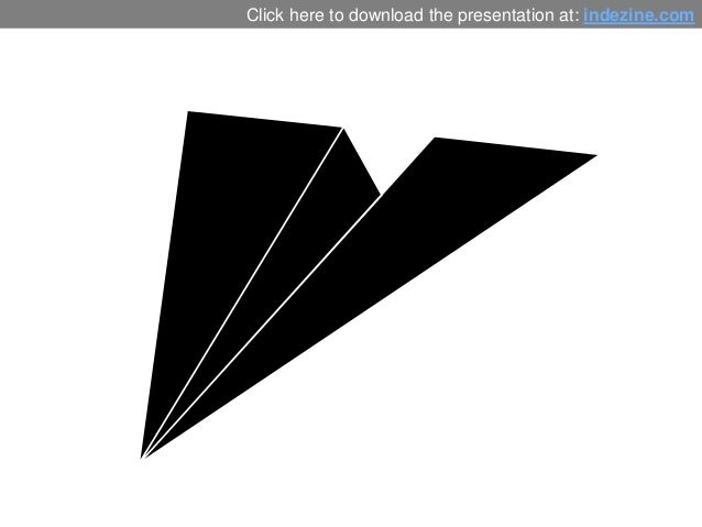 Paper Plane Graphics for PowerPoint - 01 Slide 3
