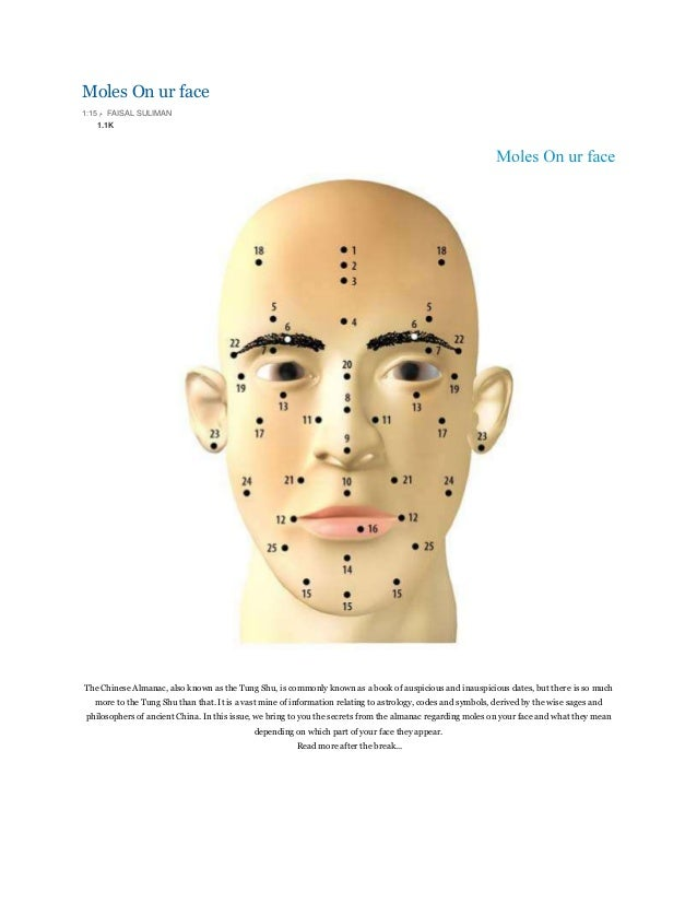 Moles On ur face 1:15 م FAISAL SULIMAN 1.1K The Chinese Almanac, also known as the Tung Shu, is commonly known as a book...