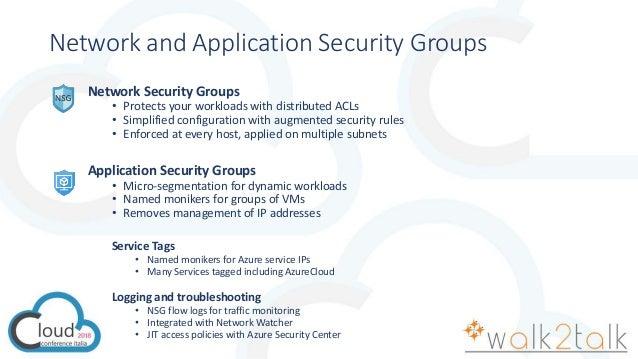 CCI2018 - Azure Network - Security Best Practices