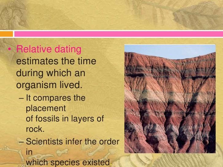 Hvordan bruger paleontologer relativ dating