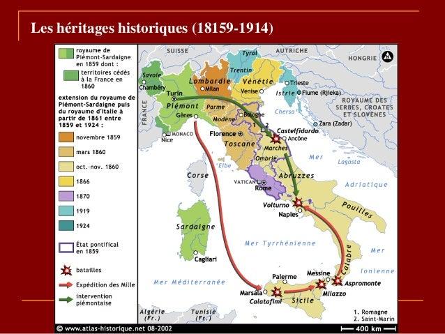 Les héritages historiques (18159-1914)
