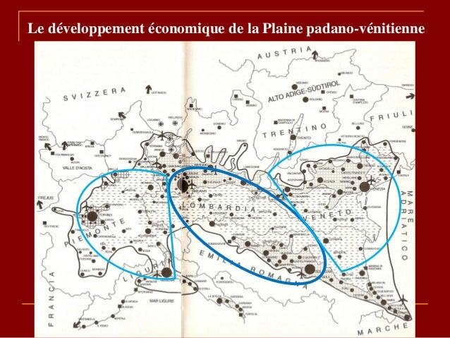 Le développement économique de la Plaine padano-vénitienne