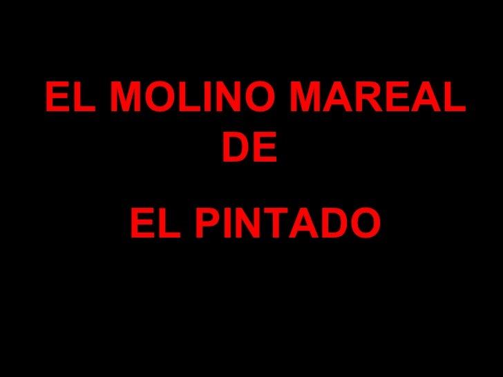 EL MOLINO MAREAL DE  EL PINTADO