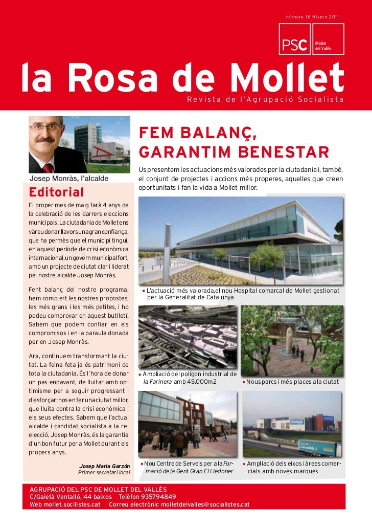 número 16 Hive r n 20 1 1                                                 LaLa Rosa de Mollet                             ...