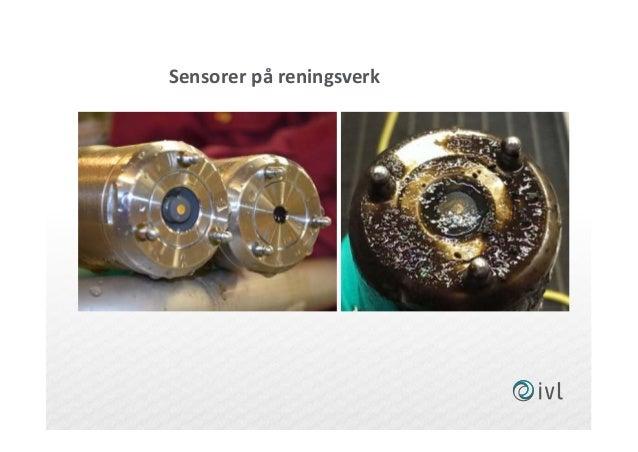 Sensorer på reningsverk