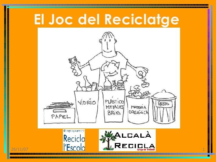 El Joc del Reciclatge