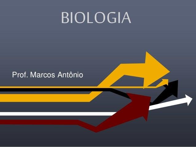 BIOLOGIA Prof. Marcos Antônio