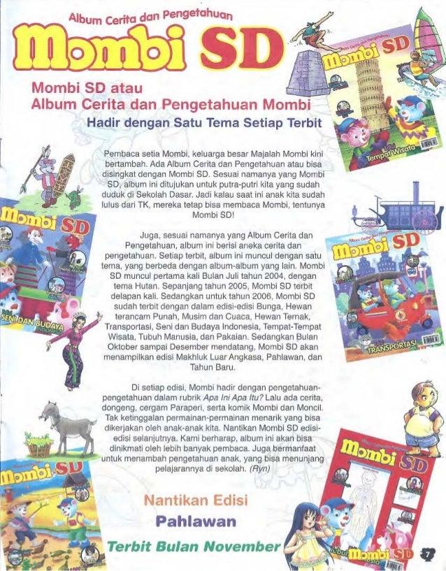 Mombi vol 19, 2006, edisi Makhluk Luar Angkasa Slide 2