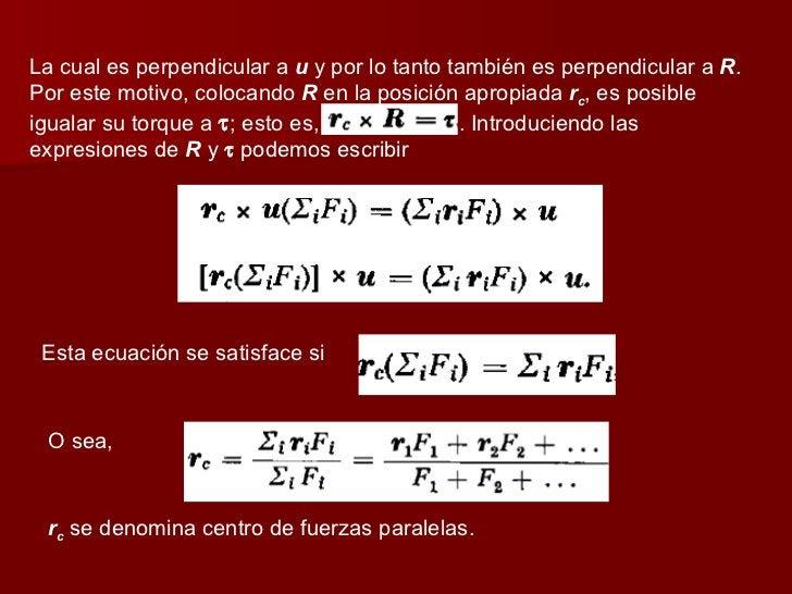 La cual es perpendicular a  u  y por lo tanto también es perpendicular a  R . Por este motivo, colocando  R  en la posició...