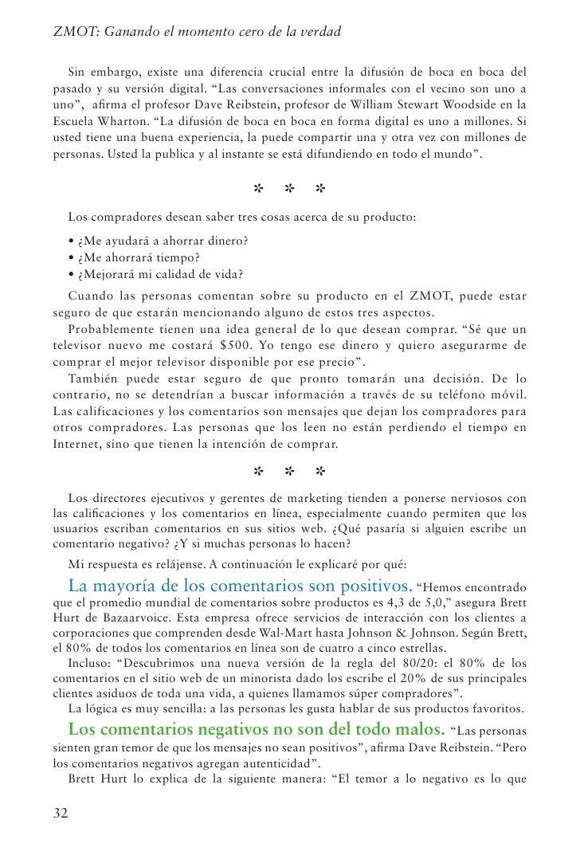 Capítulo 4: Calificaciones y comentarios: De boca en bocarealmente pone a dudar a las empresas sobre la adopción del Momen...