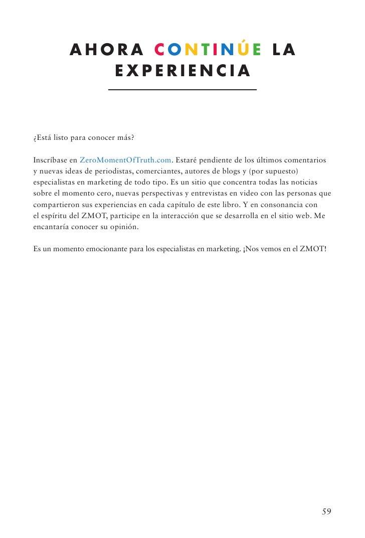 """E-Book: """"Ganando el Momento Cero de la Verdad"""""""