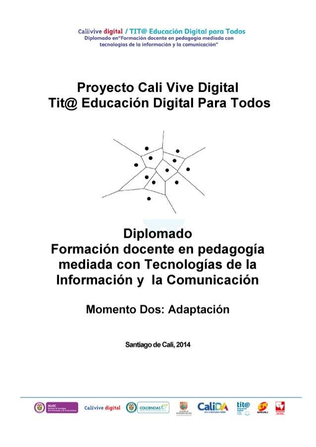Momento dos diplomado tit@ educación digital para todos abril 11 de 2014