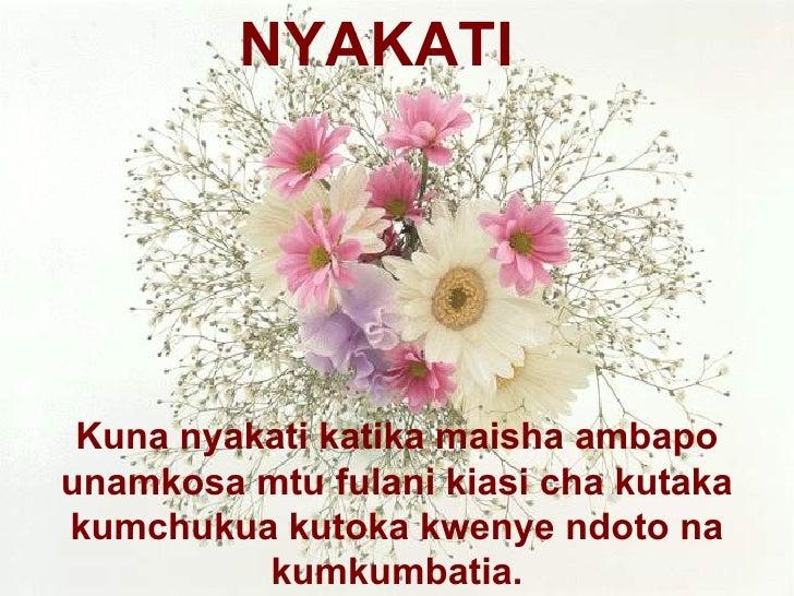 Kuna nyakati katika maisha ambapo unamkosa mtu fulani kiasi cha kutaka kumchukua kutoka kwenye ndoto na kumkumbatia. NYAKATI