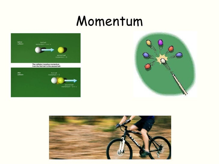 importance of momentum in everyday life
