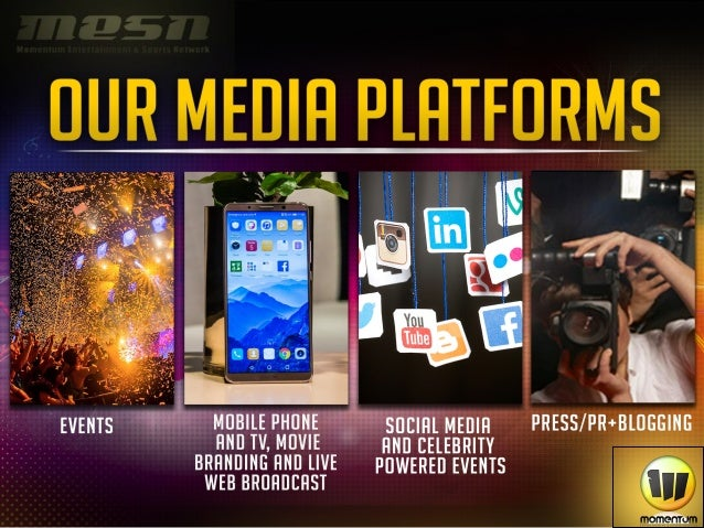 Momentum Media Cryptocurrency and Brand Media Deck Slide 2