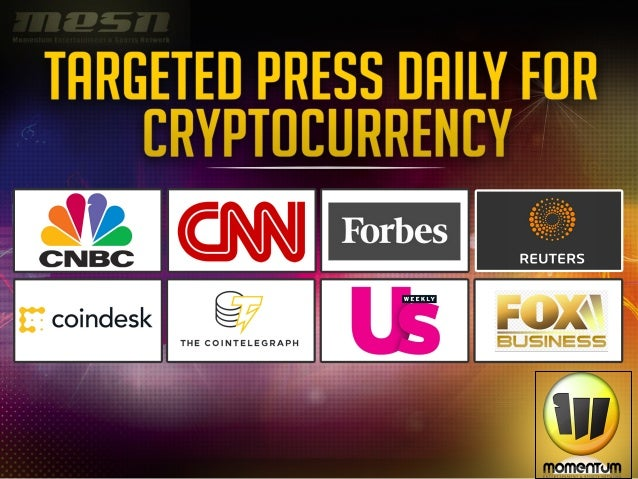 Momentum Media Cryptocurrency and Brand Media Deck