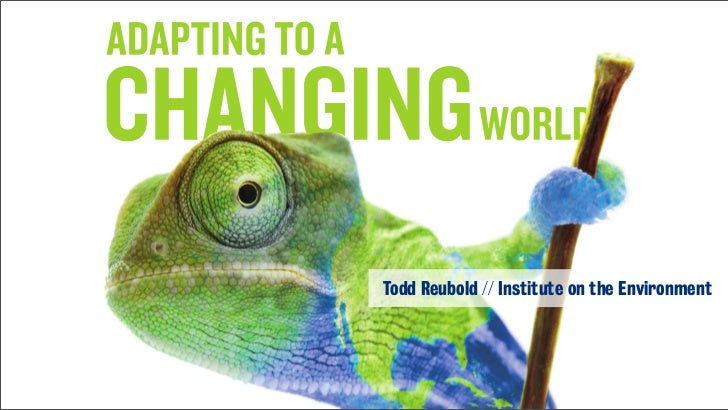 Todd Reubold // Institute on the Environment