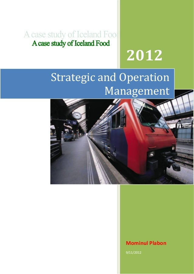 2012Strategic and Operation           Management              Mominul Plabon              9/11/2012
