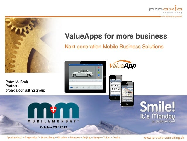 ValueApps for more business!                                                                      Next generation Mobile B...
