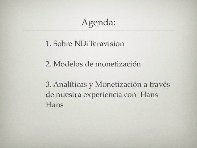 2. Modelos de Monetización
