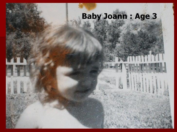 Baby Joann : Age 3