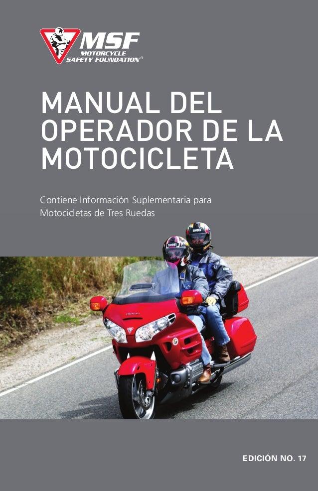 manual de una moto