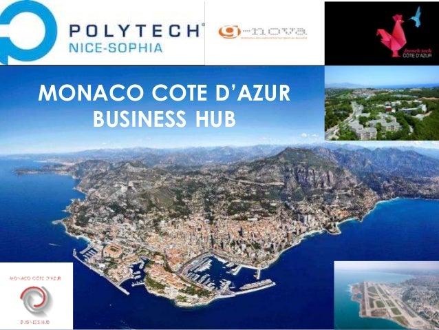 25 Sept.2014 MONACO COTE D'AZUR BUSINESS HUB