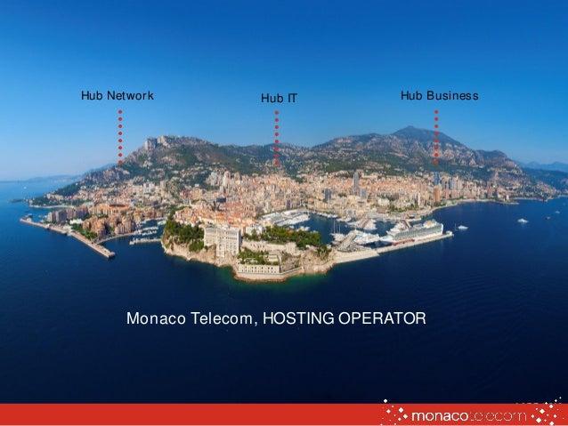 Hub Network Hub BusinessHub IT Monaco Telecom, HOSTING OPERATOR