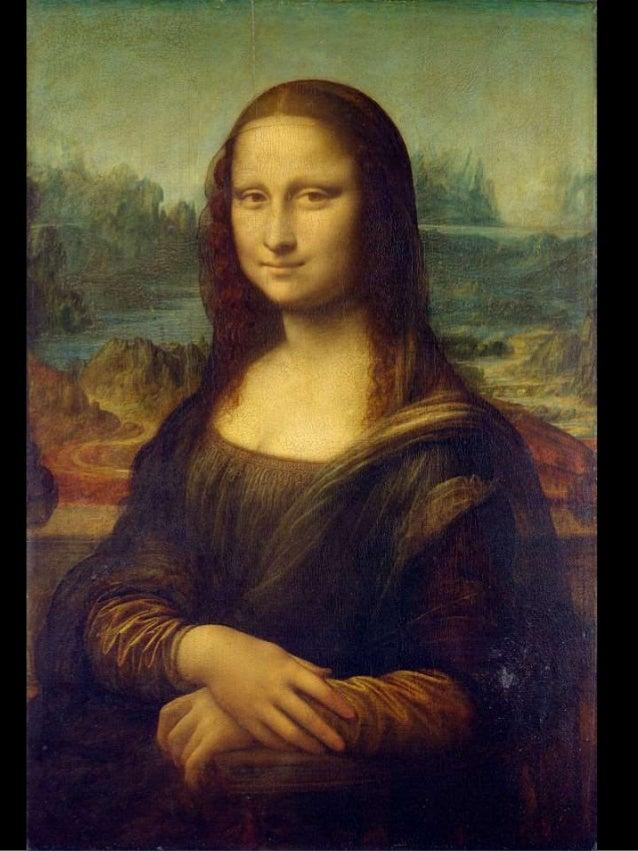 """Mona Lisa (""""Senhora Lisa"""") também conhecida  como A Gioconda (em italiano, La Gioconda, """"a  sorridente""""; em francês, La Jo..."""