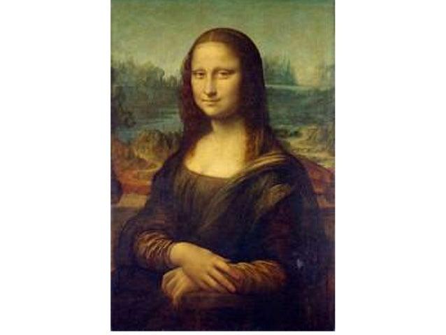 """• Mona Lisa (Senhora Lisa) também conhecida como A Gioconda (em italiano, La Gioconda, """"a sorridente"""") é a mais notável e ..."""