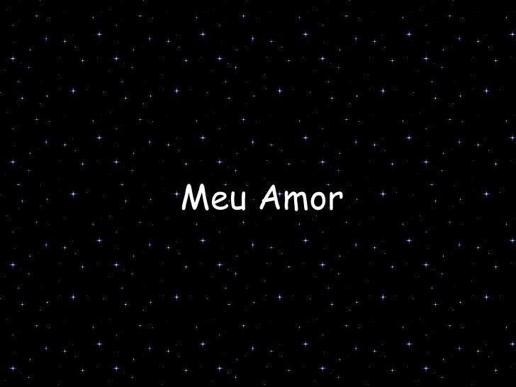 Meu Amor
