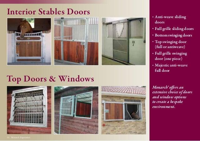 Monarch Equestrian 15 Robust; 16. & Monarch brochure2014lr