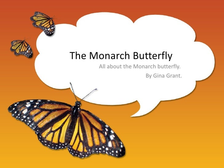 The Monarch Butterfly     All about the Monarch butterfly.                      By Gina Grant.