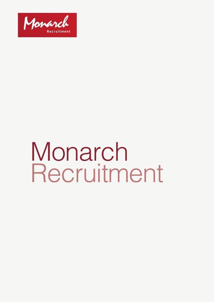 Monarch Recruitment
