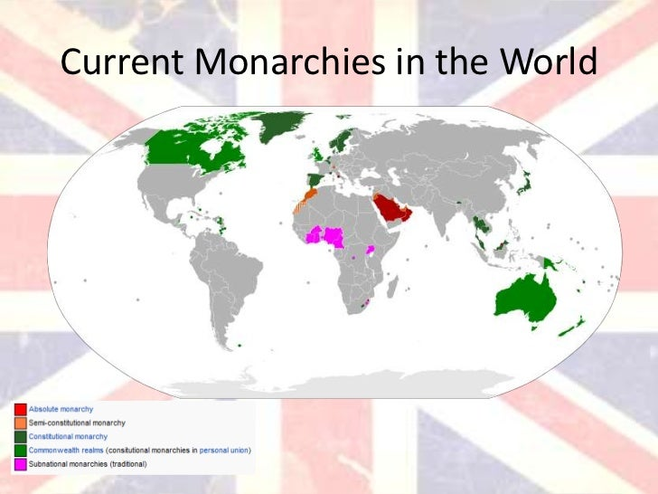 Monarchy - New World Encyclopedia