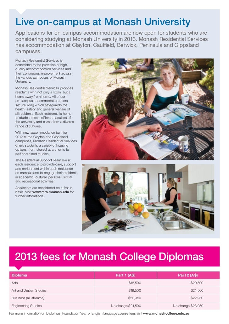 Monash essay