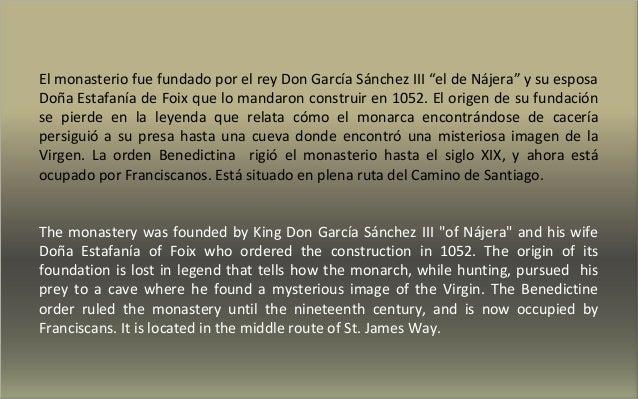 MONASTERIO DE SANTA MARÍA LA REAL DE NÁJERA Slide 3