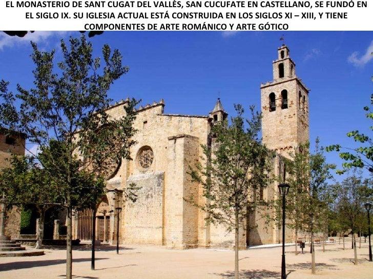 Monasterio benedictino de sant cugat del vall s barcelona - Temperatura actual en sant cugat del valles ...