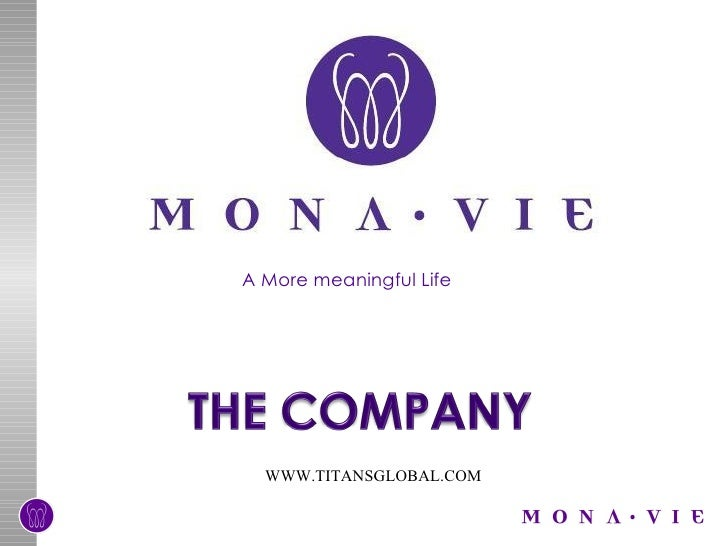 Monavie business plan