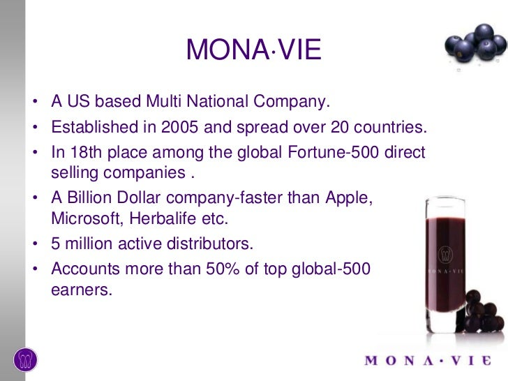 Monavie Review, An Interesting Company That Can Make You Rich? Or Just A Load Of Hype?