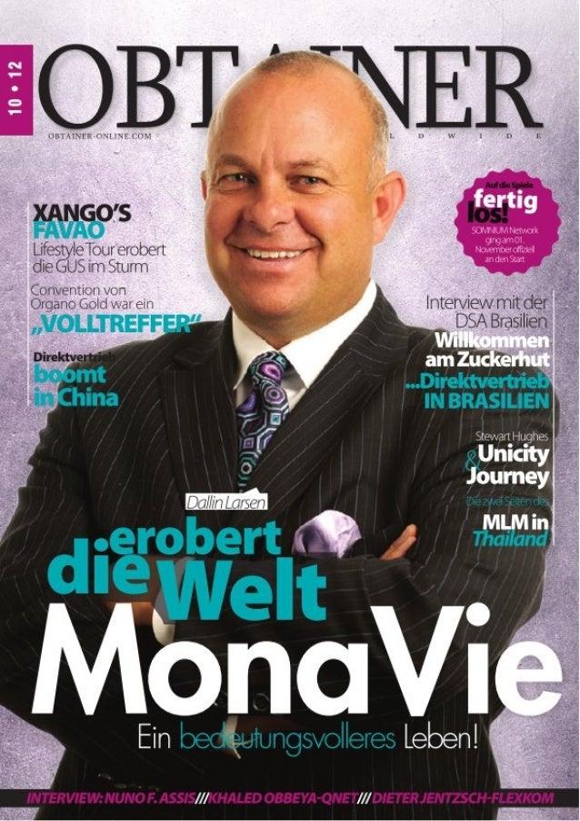 MonaVie erobert die Welt