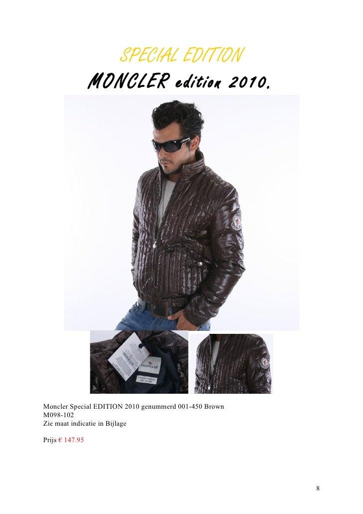 moncler maat 8