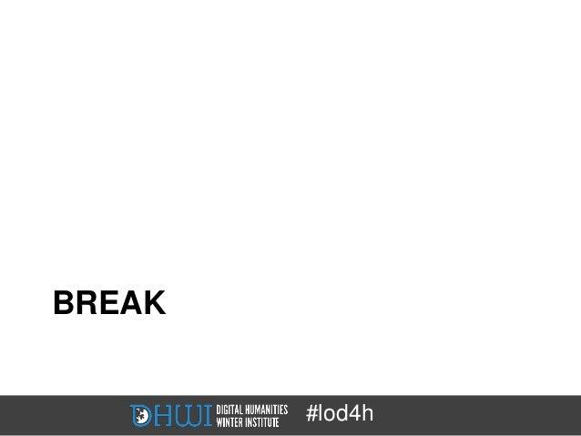BREAK        #lod4h