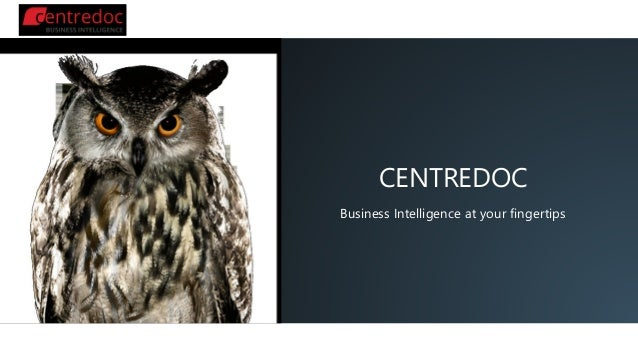 CENTREDOC Business Intelligence at your fingertips